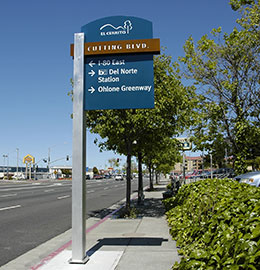San Pablo Avenue sign