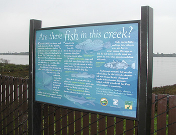 Bay Trail sign