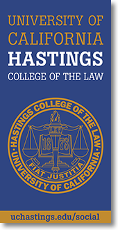 Banner with college seal
