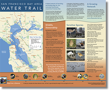 Water Trail map