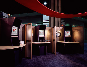 Exhibit interior