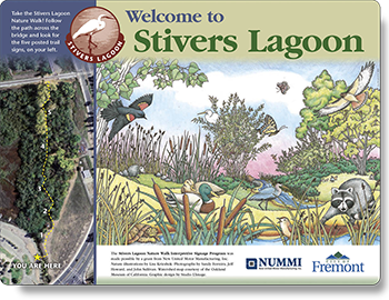 Stivers Lagoon intro sign